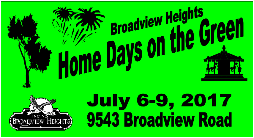 2017 logo for Broadview Heights Home Days