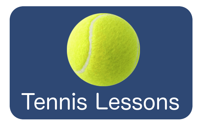 tennis lessons button
